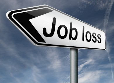 Job loss at debt collection agency