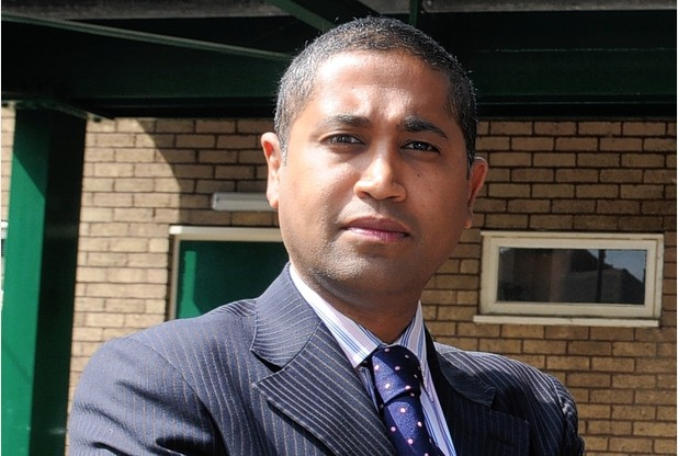 Ranjit Banwait, leader of Derby City Council.