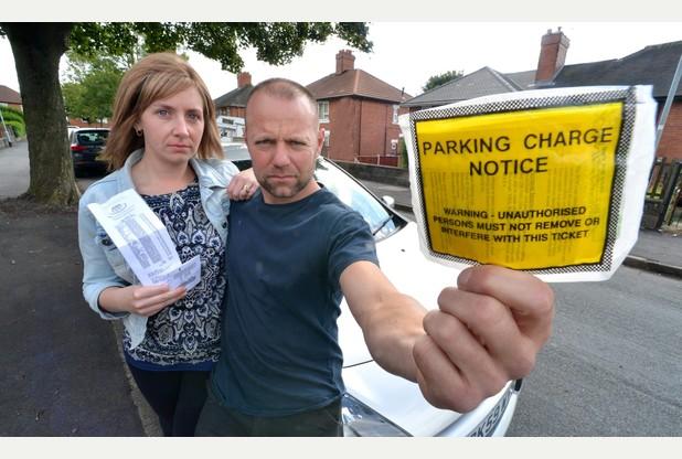 stoke parking fine