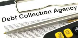 using debt collection agency